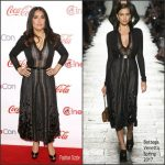 Salma Hayek In Bottega Veneta  At  CinemaCon 2017