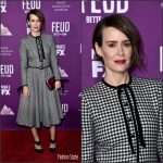 Sarah Paulson In Valentino –  Feud : Bette and Joan LA Premiere