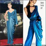 Scarlett Johansson In Balmain – 'Ghost In The Shell' Tokyo Premiere