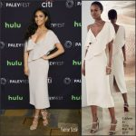 Shay Mitchell In Cushnie et Ochs – PaleyFest Los Angeles: 'Pretty Little Liars'