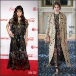 Sofia Boutella In Valentino  At  CinemaCon Big Screen Achievement Awards