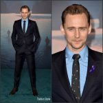 "Tom Hiddleston  In Gucci  – ""Kong: Skull Island"" LA Premiere"
