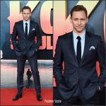 T​om Hiddleston In Gucci  – 'Kong: Skull Island' London Premiere