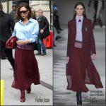Victoria Beckham In Victoria Beckham – Out In Paris
