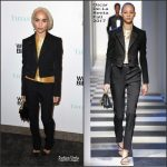 Zoe Kravitz In Oscar de la Renta – Whitney Museum Biennial Event In New York