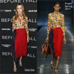 Zoey Deutch  In Prada –  Before I Fall   New York  Screening