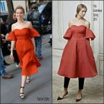 Zoey Deutch  In Vika Gazinskaya – Today Show