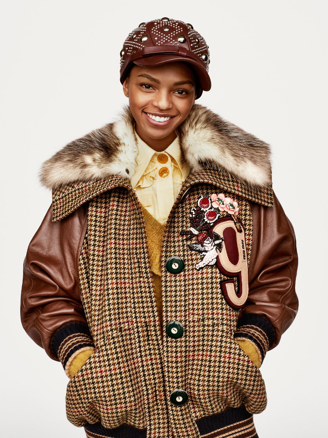 Selah Marley For Miu Miu Pre -Fall 2017 - Fashionsizzle