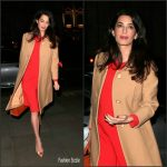 Amal Clooney  In Dior  & Balmain – Accountability: International Crimes in Syria and Iraq