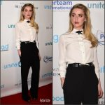 Amber Heard  attends  Unite4: Humanity Gala In LA