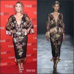 Blake Lively In Marchesa  At  2017 Time 100 Gala