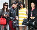 Celebrities With Designer Bags