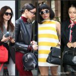 Celebrities With Designer Bags