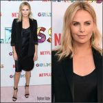 Charlize Theron In Nili Lotan  At 'Girlboss' LA Premiere