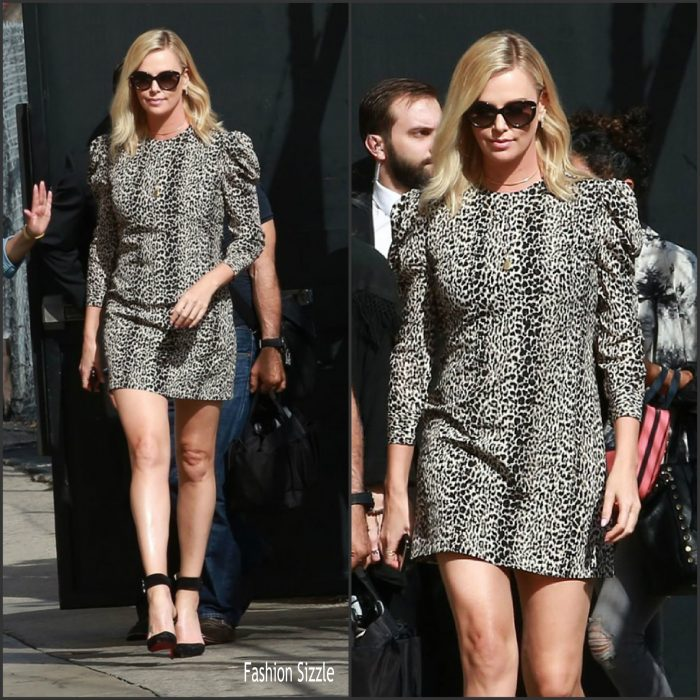 charlize-theron-in-saint-laurent-jimmy-kimmel-live-700×700