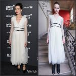 Charlotte Casiraghi In Giambattista Valli  At  Montblanc & UNICEF Gala Dinner
