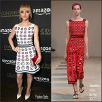 Christina Ricci In Azzedine Alaïa At  'Z: The Beginning Of Everything' Emmy FYC Screening