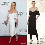 Christina Ricci In Gabriela Hearst  At  'Clive Davis: The Soundtrack Of Our Lives' Tribeca Film Festival Premiere