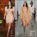 Demi Lovato In Zimmermann  At  The Ellen DeGeneres Show