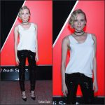 Diane Kruger  At Audi Sport Unveiling In  New York