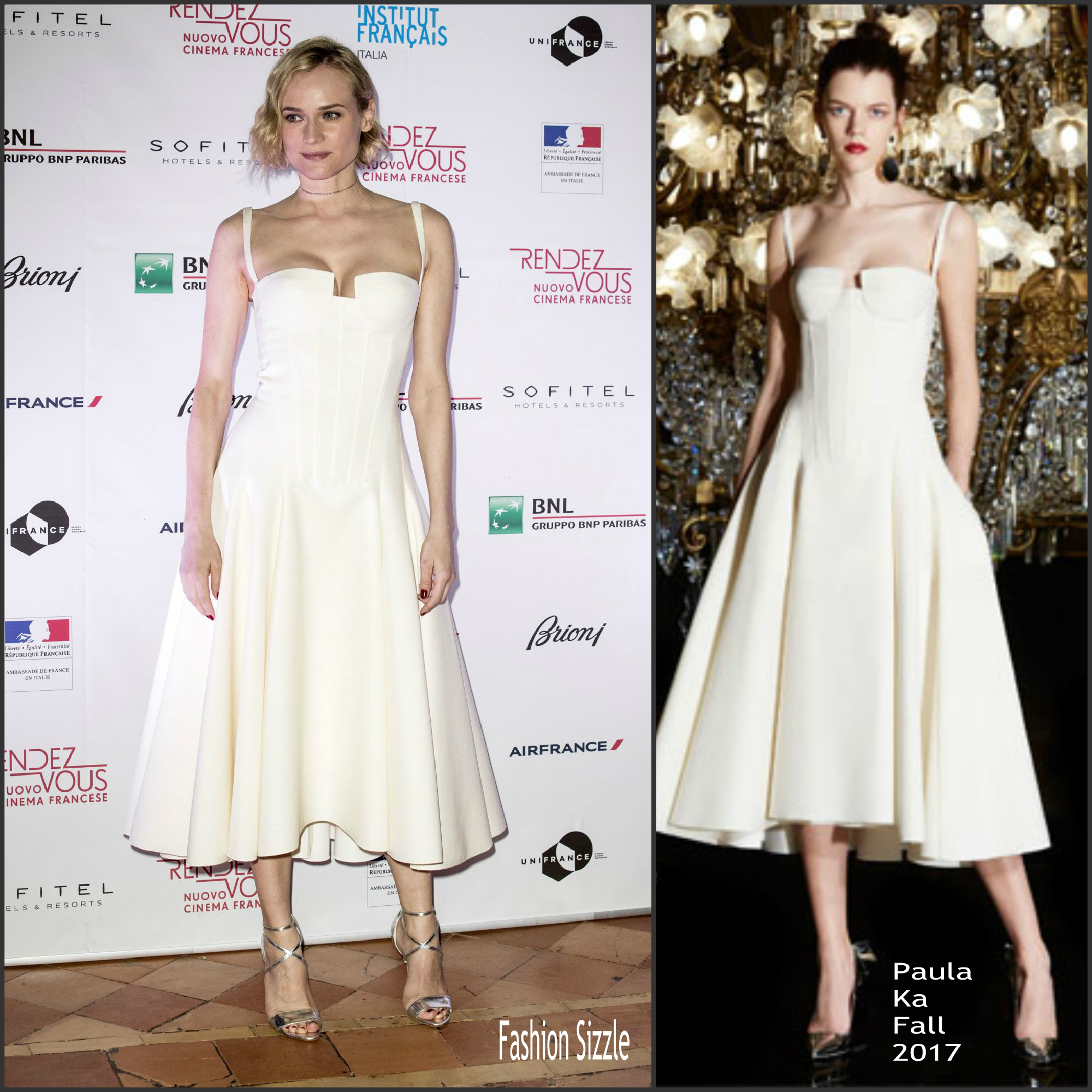 Diane Kruger In Paule Ka At Rendez Vous Nouveau Cinema Francais Opening Ceremony Fashion Sizzle
