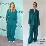 Doutzen Kroes  In  Celine – Tiffany & Co. 2017 Blue Book Collection Gala