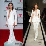 Eva Longoria In Elisabetta Franchi At 2017 Billboard Latin Music Awards