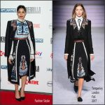 "Freida Pinto in Temperley London – ""Guerrilla"" London premiere"