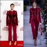 Gemma Arterton In Altuzarra  At  'Their Finest' Press Screening