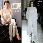 Gemma Arterton In  Blumarine –  BUILD LDN