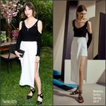 Gia Coppola In Rosetta Getty –  Tania Fares and Rosetta Getty Dinner