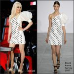 Gwen Stefani  In David Koma – Voice Season 12 'Live Playoff'