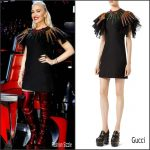Gwen Stefani In  Gucci  – Voice Season 12