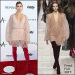 Hailey Baldwin In Fendi At Daily Front Row 3rd Annual Fashion Los Angeles Awards