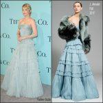 Haley Bennet In J. Mendel – Tiffany  & Co Blue Book Celebration Gala