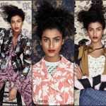 Imaan Hamman First  Black  Model To Cover Vogue China  & Japan
