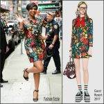 Jennifer Hudson In Gucci  At  Good Morning America