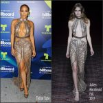Jennifer Lopez  In Julien Macdonald At 2017 Billboard Latin Music Awards