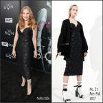 Jessica Chastain In No.21 – AMC's The Son LA Premiere