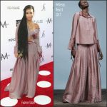 Jhené Aiko In Hellessy  At Daily Front Row 3rd Annual Fashion Los Angeles Awards