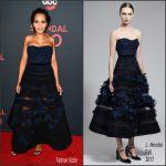 Kerry Washington In J. Mendel  At  ABC's Scandal 100th Episode Celebration