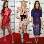 Marie Claire's Fresh Faces Party Red Carpet 2017
