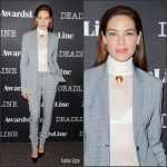 Michelle Monaghan In Gabriela Hearst  At  Deadline's The Contenders Event