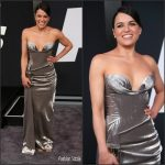 Michelle Rodriguez In Vivienne Westwood Couture  At 'The Fate Of The Furious' New York Premiere