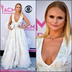 Miranda Lambert In Steven Khalil  At  2017 ACM Awards