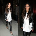 Nicole Scherzinger In  Philipp Plein – Out In LA