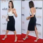 Nina Dobrev In David Koma  At  'The Promise' LA Premiere