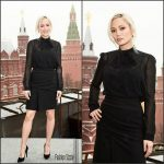 Pom Klementieff  In Carven – Guardians Of The Galaxy 2 Moscow Photocall