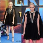 Pom Klementieff In Giambattista Valli – 'Guardians of the Galaxy Vol. 2' London Premiere