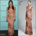 Priyanka Chopra In J. Mendel  At  Harper's Bazaar 150th Anniversary Celebration